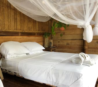 Suite with balcony close to beach/rainforest