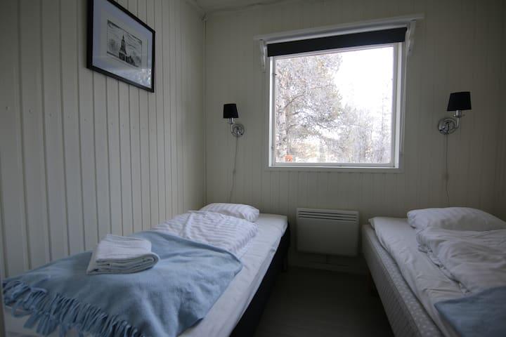 Room 3 - shared house Aurora Camp Main Cabin