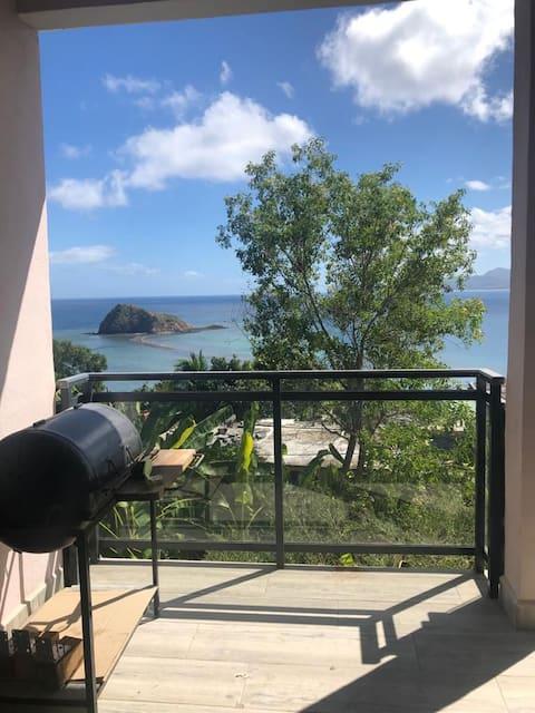 Superbe T2 full équipé à sada avec vue sur îlot