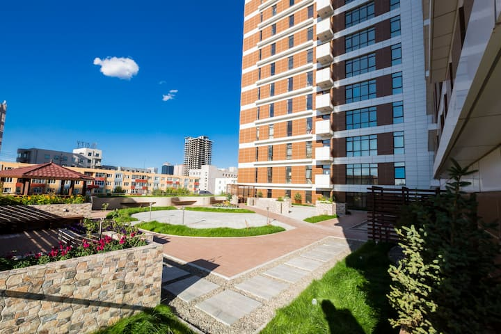 220K Luxe Condo Next to Sukhbaatar Square..