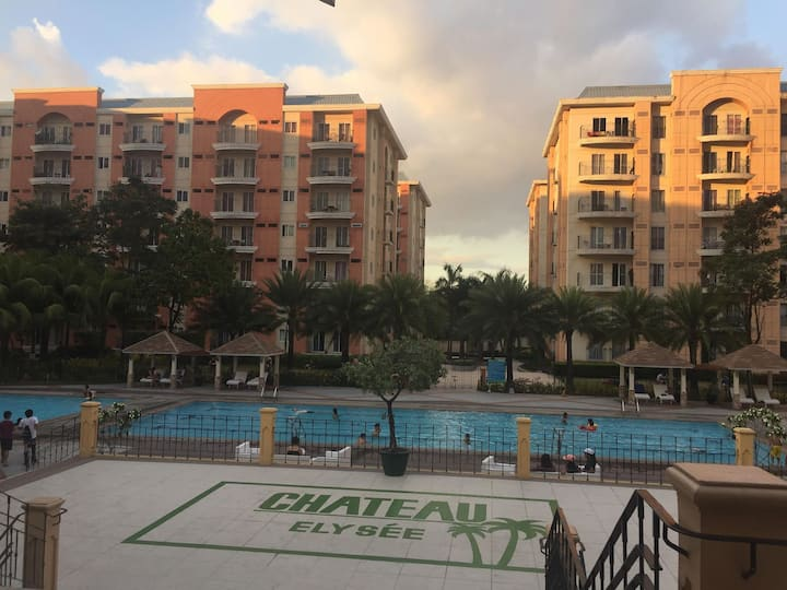 The Chateau Elysee Condo Paranaque 15mins airport