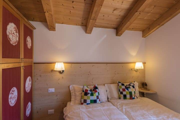 Maso Scricciolo, Room Zippy - Vezzano - Bed & Breakfast