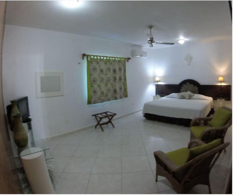 Villa Atardecer 2 bedroom 2 bath Master bedroom