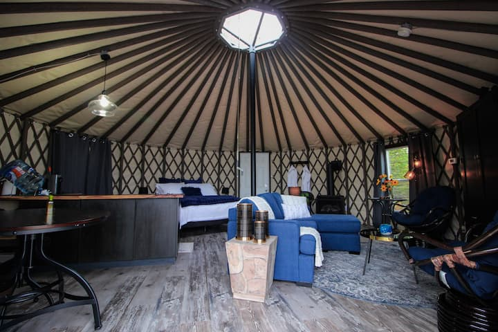 Yurt it Up North - Self Check-In