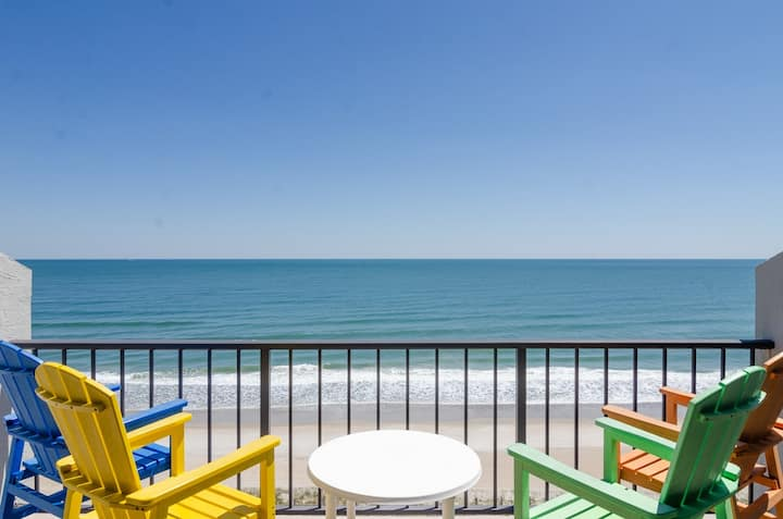 Allensworth-Large elegant oceanfront condo offering everything you will need