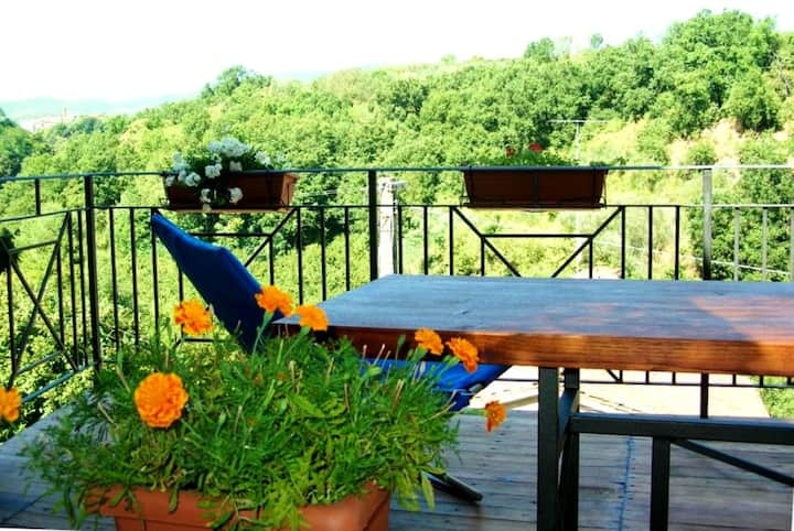 Property with 3 bedrooms in Vignanello, with furnished terrace and WiFi