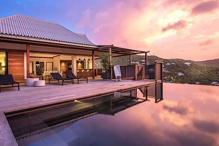 Villa WV APC - Expansive views, private and peaceful, located a short drive from the beach, restaurants, and shops - Saint-Barthélemy