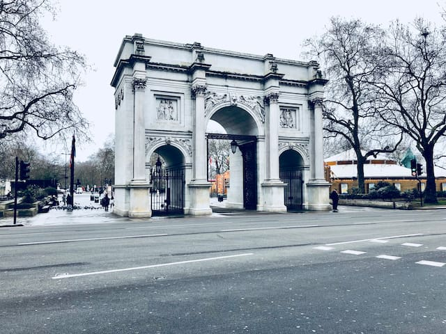 World Famouse Marble Arch is Next to your door step
