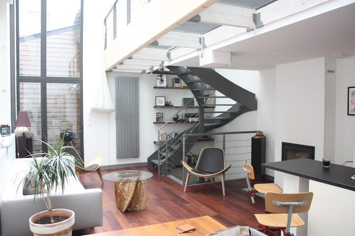 Triplex d'Architecte au calme en plein centre