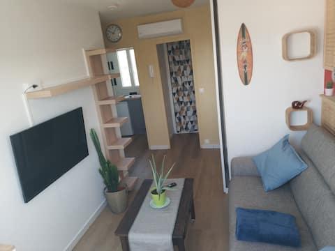 Studio au dernier étage Montrouge