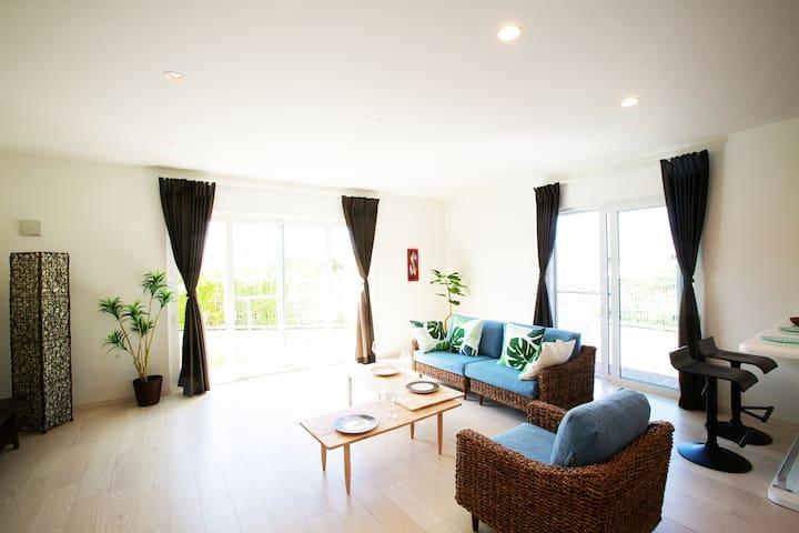 Resort Holiday house/5min beach/3BR/IRIEⅡ