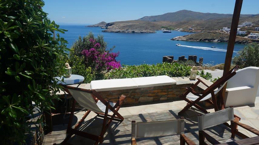 Unique Seaside House - Kythnos