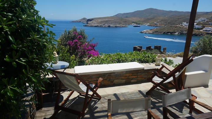 Unique Seaside House - Kythnos