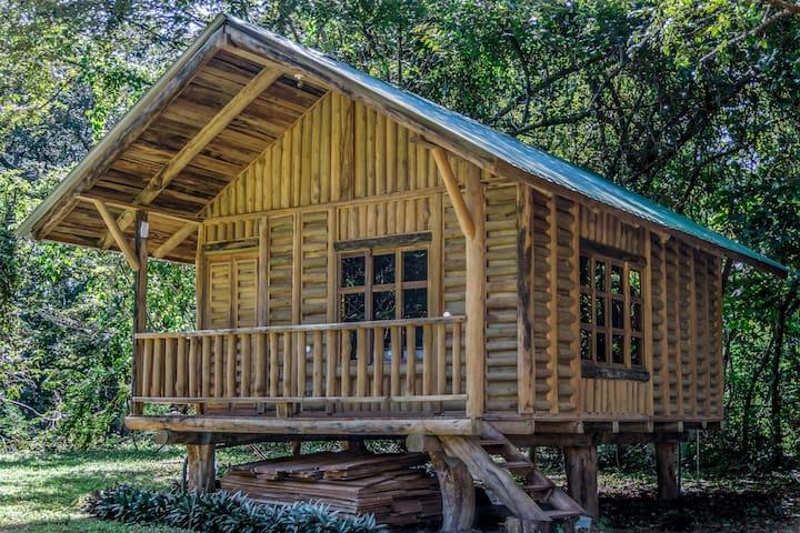 Teak Wood Cabina in the Heart of Playa Negra