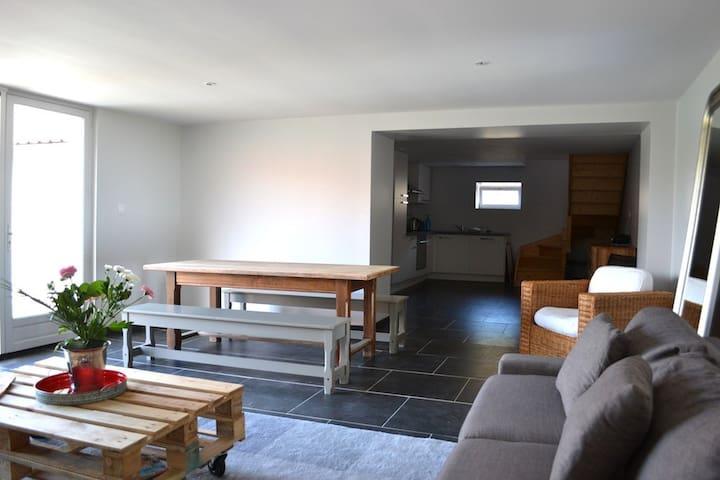 Gîte moderne à la ferme (Le Loft) - Hervelinghen - Natur-Lodge