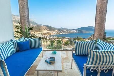 Stunning views . Beautiful Villa . - Kalkan