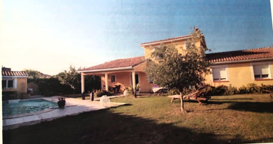 Grande et agréable villa