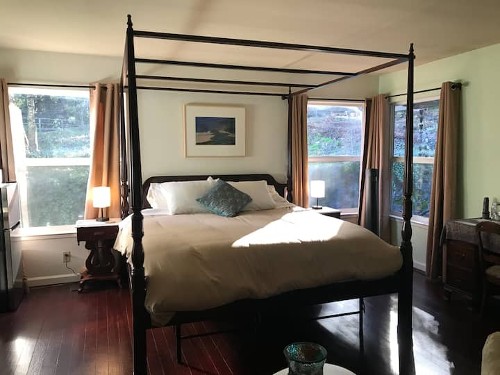 Master Bedroom Suite at Rancho Rincon Organic Farm