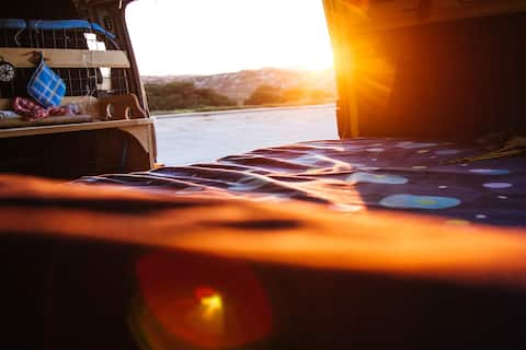 "CamperVan ""Rufina"": road & surf trip ready 