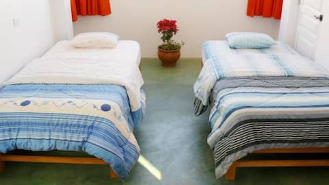 Cozy room for 4 persons with private bathroom