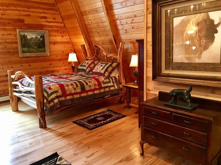 bear 10 ranch , master bedroom