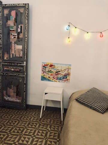 Cool & vintage room in the Gotic Quarter
