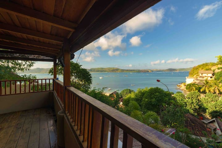 Villa Albie, Gerupuk Beach, Lombok, AMAZING VIEWS!