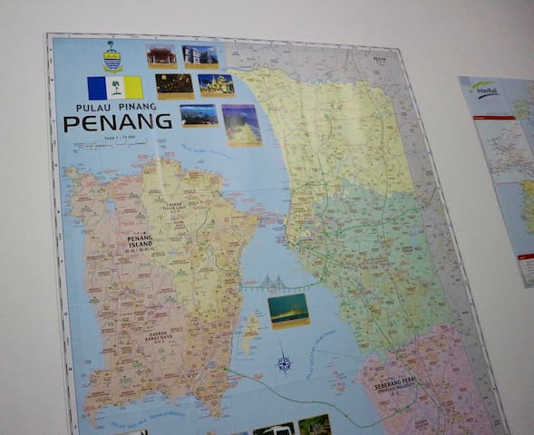 Penang local map tips