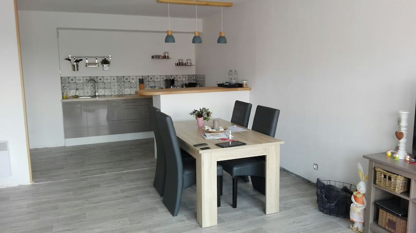Bel appartement à 50m du métro - Lille - Apartment