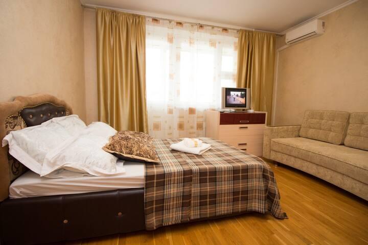 Стильная квартира на Багратионовской