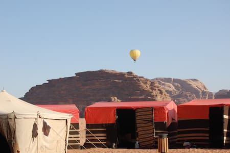 Cozy desert camp in Wadi Rum - Aqaba City