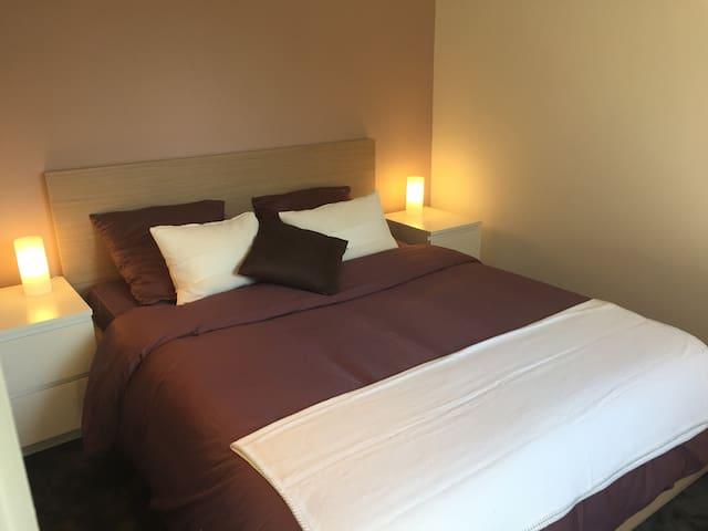 Chambre avec douche privée - Lambersart - Villa