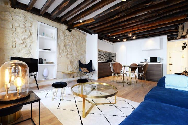 Design Apartment in the heart of Paris