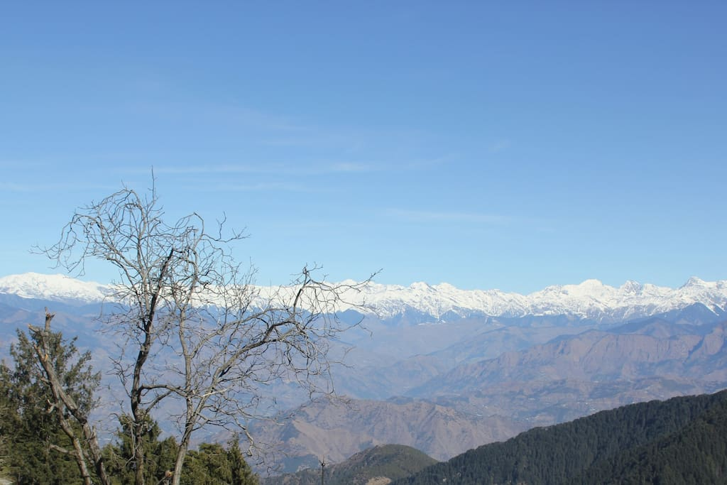 View of the PIr Panjal Range from Shant Kothi