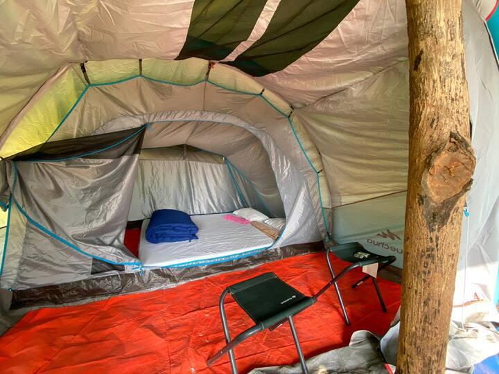 Standard tent near Igatpuri.