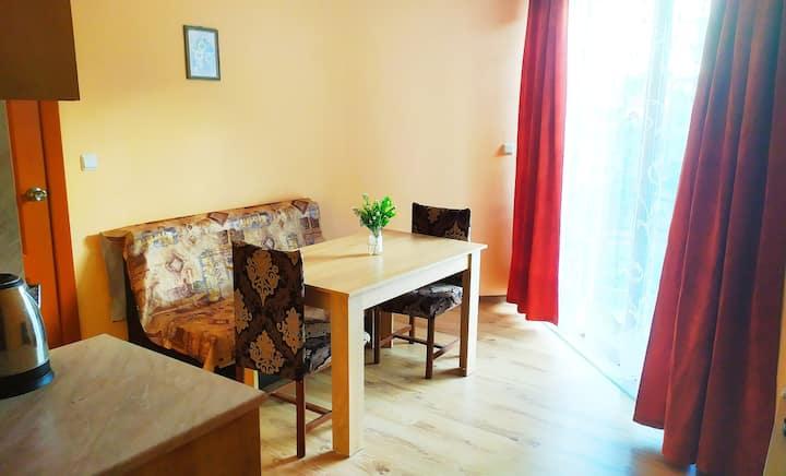 -50% Apartment near the Sea + Kitchen, WiFi &AC