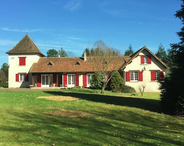 kindvriendelijke sfeervolle villa  Le Caneton