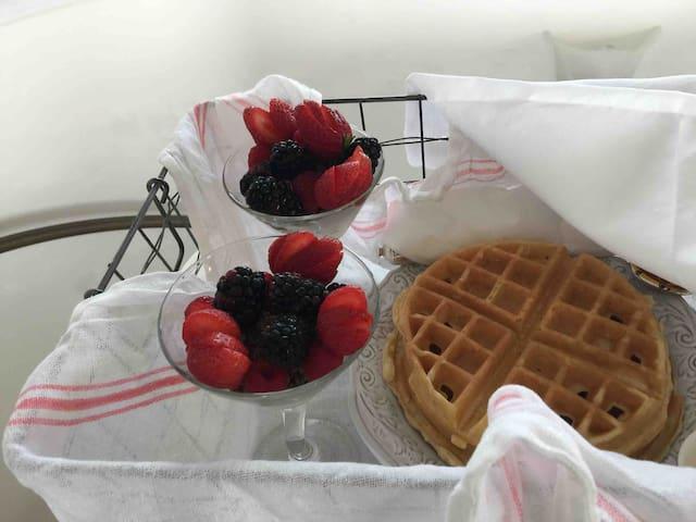 Breakfast delivered to your door
