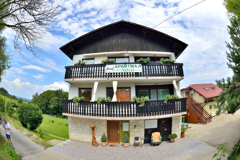"""Excellent location, friendly Slovenians and a lovely bungalow! P.S Biking is a must!:) Diana"""