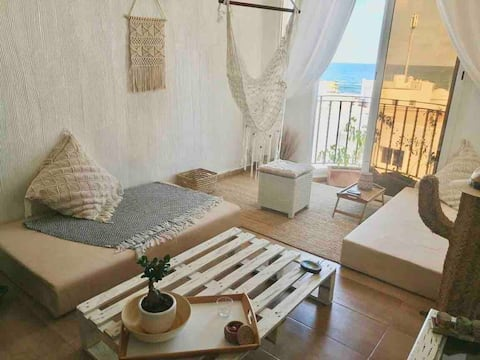 Eco beach house Dar Bouazza tamaris