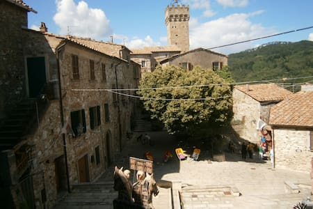 A medieval accommodation in Tuscany - Roccatederighi