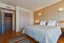 Room 1 - King Size Double Bedroom with AC and Closets