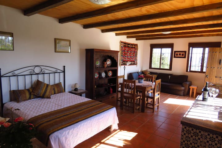 La Garita guest apartment with mountain views
