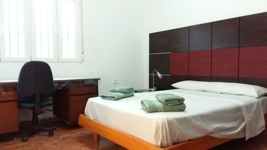 Habitacion Cama Doble, baño Privado uso Individual