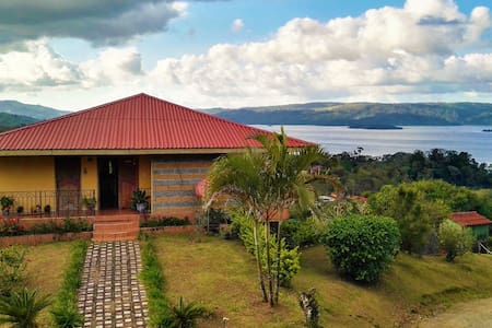 Villa Esperanza. Breathtaking Lake & Volcano views - El Castillo