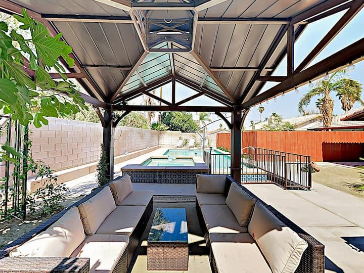 Desert Oasis w/ Private Pool & Spa