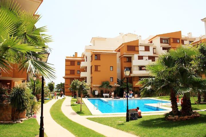 VIP Appartments Recolleta III - Torrevieja - Hotellipalvelut tarjoava huoneisto