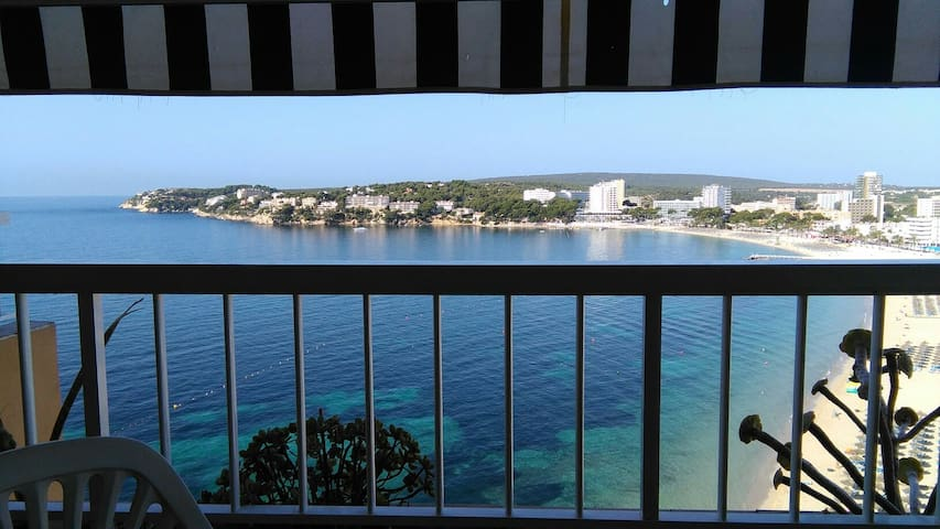 Apt 50 m2 sur la plage On the Beach 1 chambre 3 p - torrenova, punta ballena - Apartment