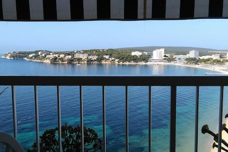 Apt 50 m2 sur la plage On the Beach 1 chambre 3 p - torrenova, punta ballena - Daire