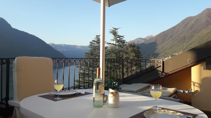 """Lago di Como: """"Appartamento Bella vista"""""""